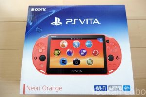PS Vita2000 ネオンオレンジに買い替えレビュー!!初期型1000シリーズとの比較